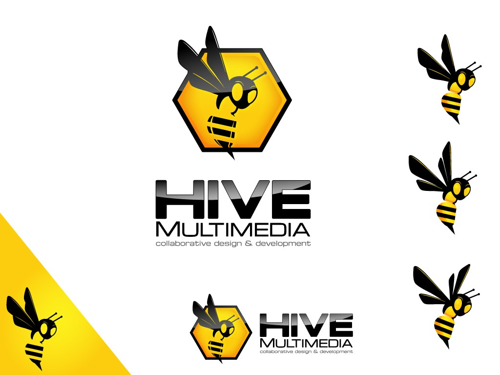 Create the next logo for Hive Multimedia