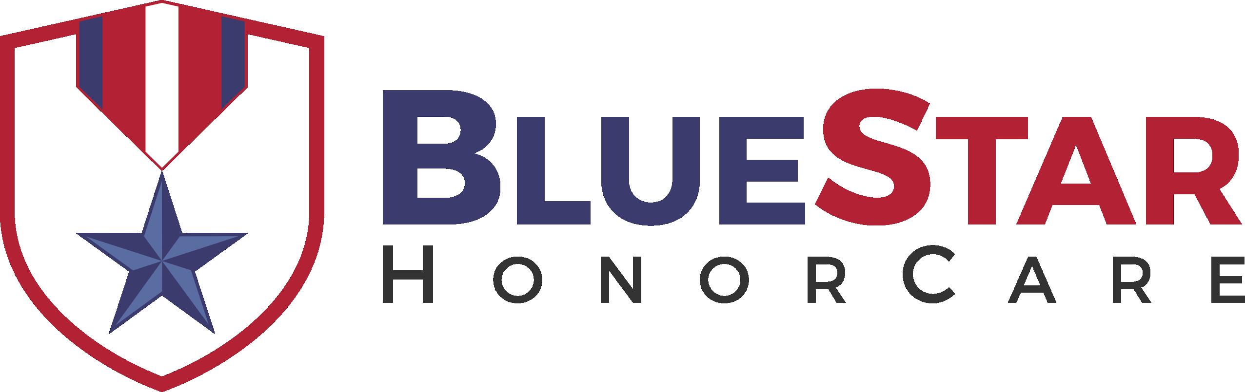 Create a descriptive logo for a company helping elderly military veterans