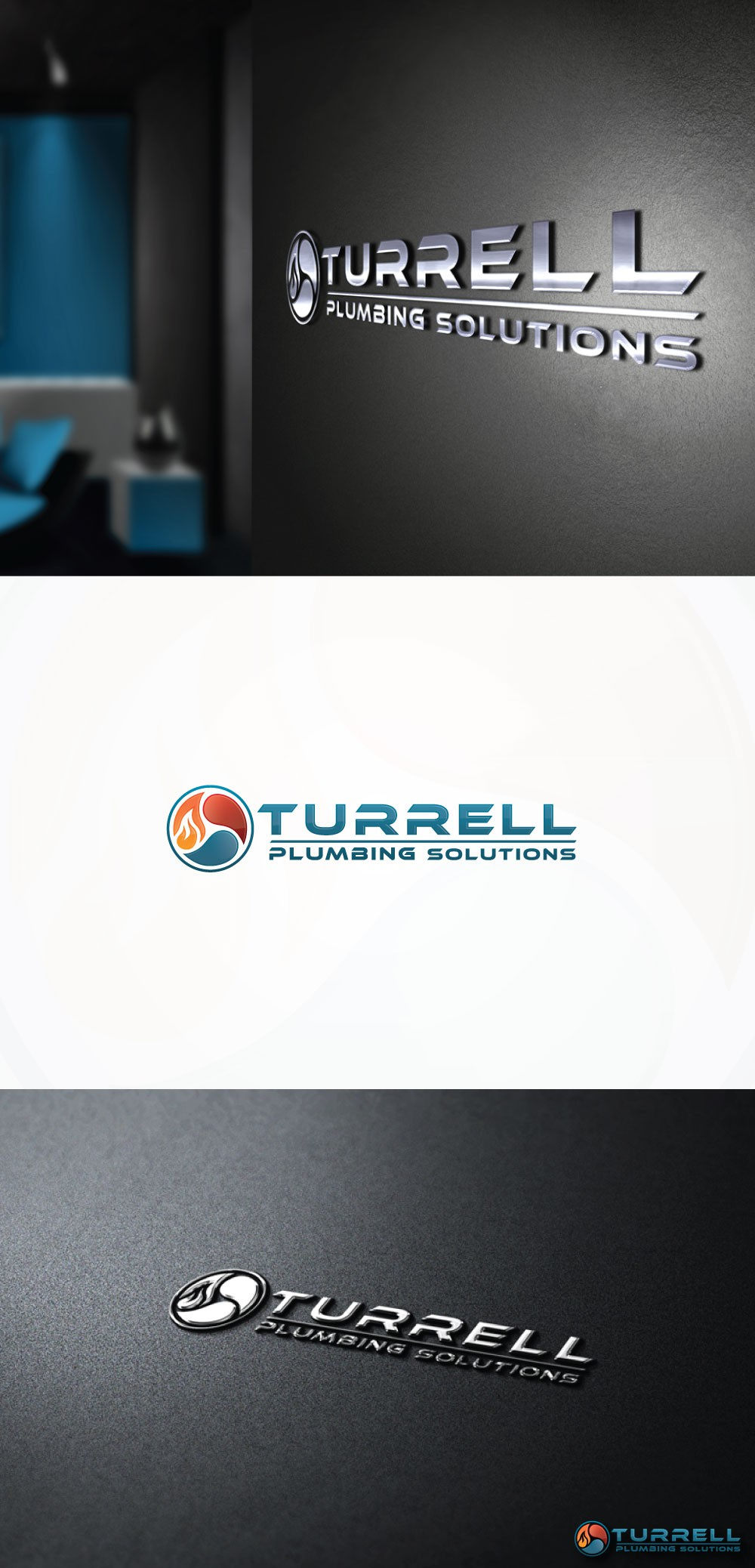 Can you create a logo and website that will differentiate this new plumbing company from the rest?