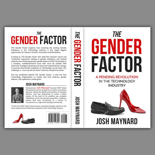 Inspiring Book Cover for The Gender Factor