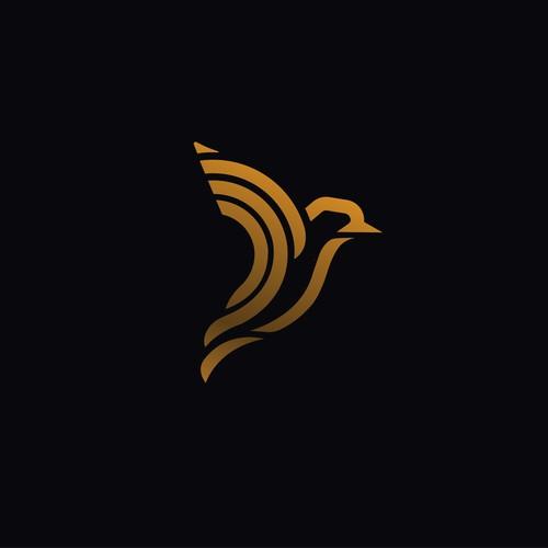sparrow logo concept