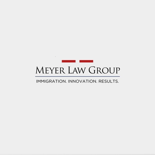 Original logo concept for corporate immigration law firm - Meyer Law Group