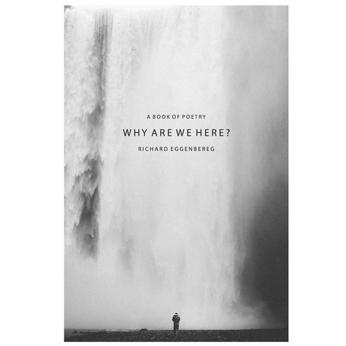 Why are we here?- Cover for the book of poetry
