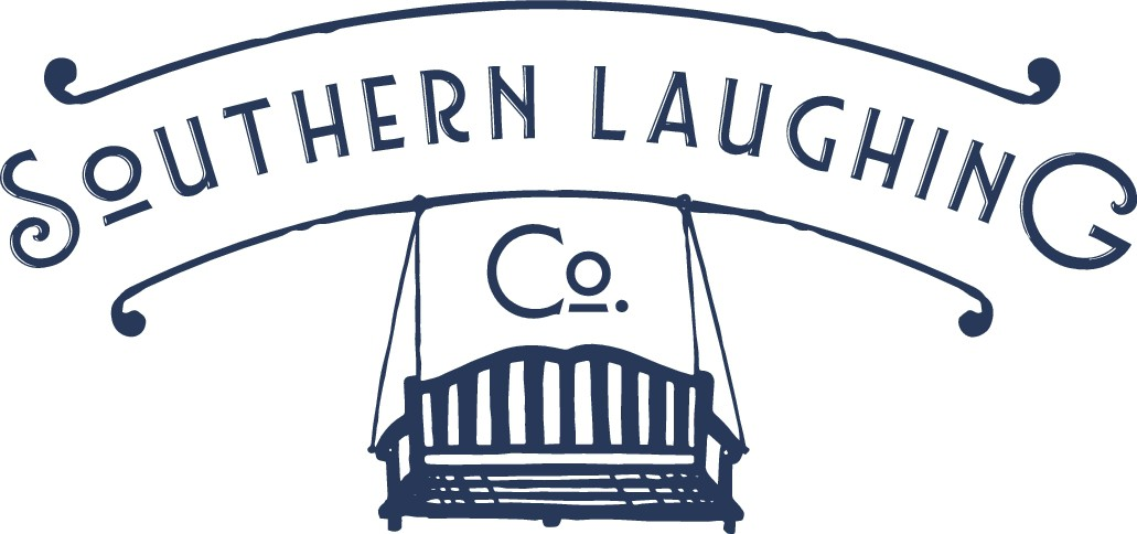 Create a unique vintage logo for Southern Laughing Company