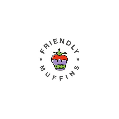 Logo concept for muffin shop
