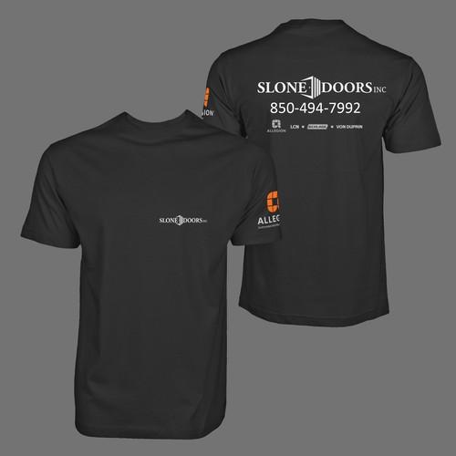 Tshirt design for SloneDoors Inc