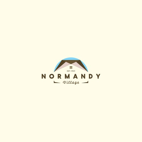 "Dynamic Logo for ""Normandy Village"""