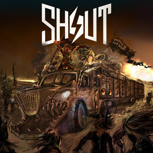 SHOUT CD COVER