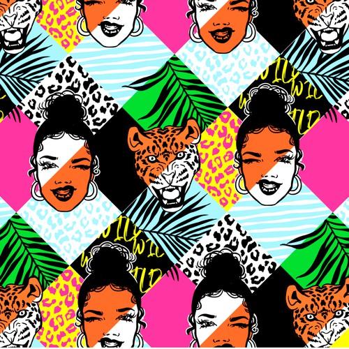 Fashion-Foward, Soulful Kimono Prints