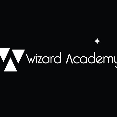 Wizard Academy Logo Design