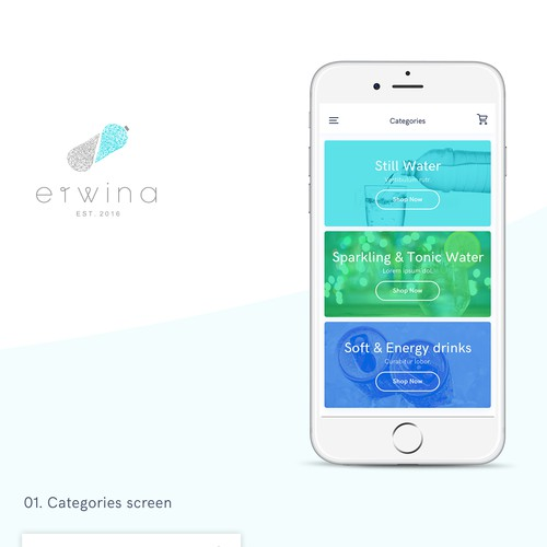 ERWINA Co. App design contest
