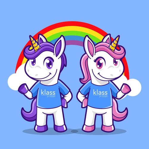 Pony Logo Mascot