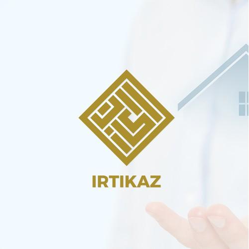 Creative Kufic Arabic Calligraphy Logo Design
