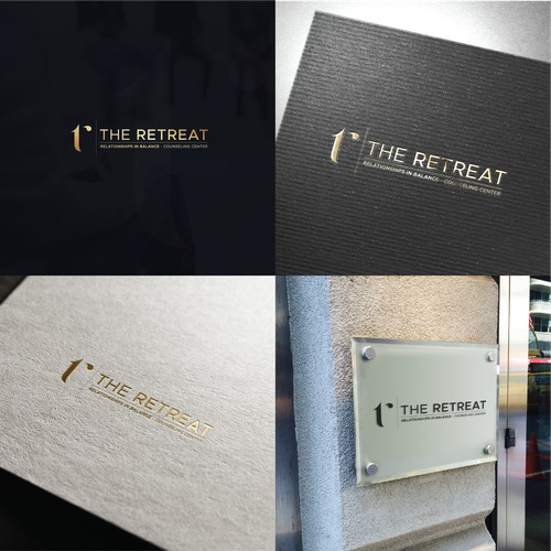 Luxurious logo for a counseling center