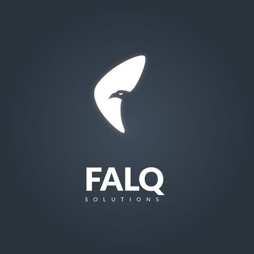 Flaq solution logo design