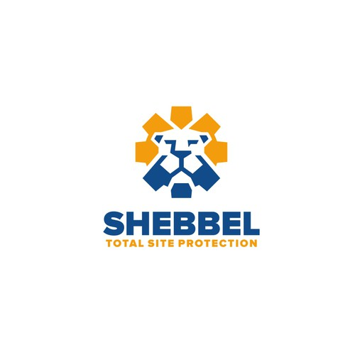 Shebbel total protection logo design