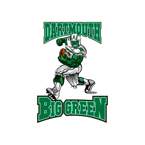 Fuse the hulk and football to create an eye-catching football team logo