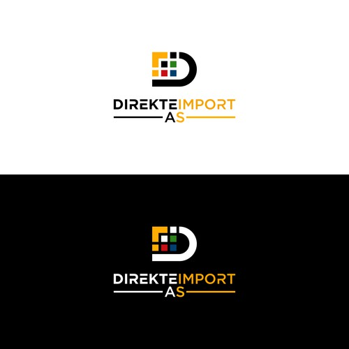 bold logo for import company