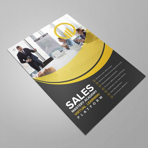 Sales Mastery Academy Flyer Advertising