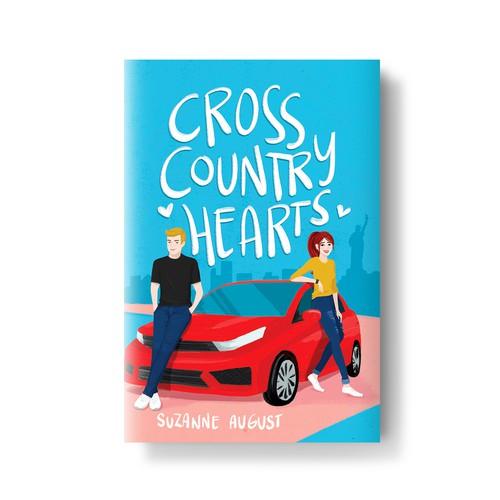 Book Cover Design, Illustration & Lettering