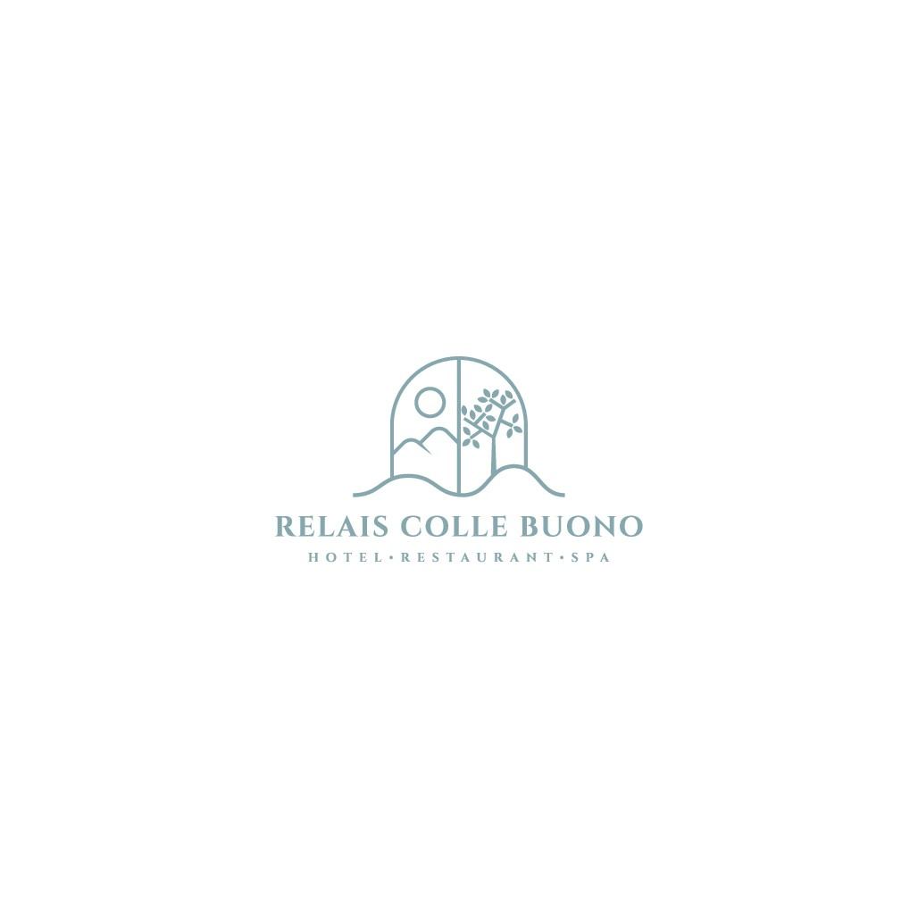 logo for a romantic and relaxing relais (4*) and gourmet restaurant in the Italian countryside.