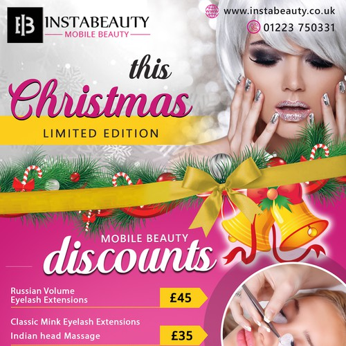 Flyer design of Instabeauty