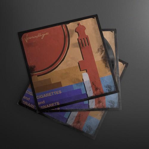 Vandalye: Cigarettes And Minarette. Cover Art