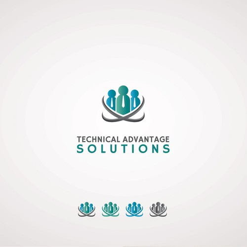 Create a brilliant and memorable logo for Technical Advantage Solutions