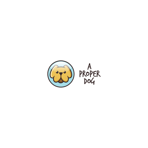 Logo for a Proper Dog