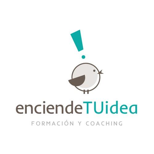 Logotipo para empresa de coaching y formación