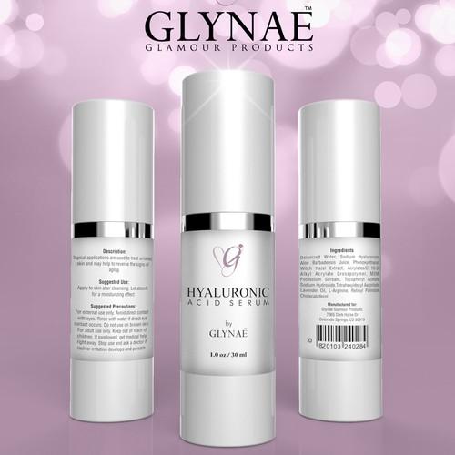 Glynae Bottle label