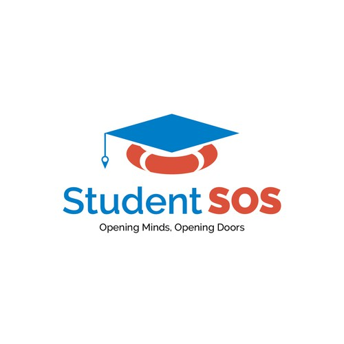 Create a modern, fun original logo for StudentSOS