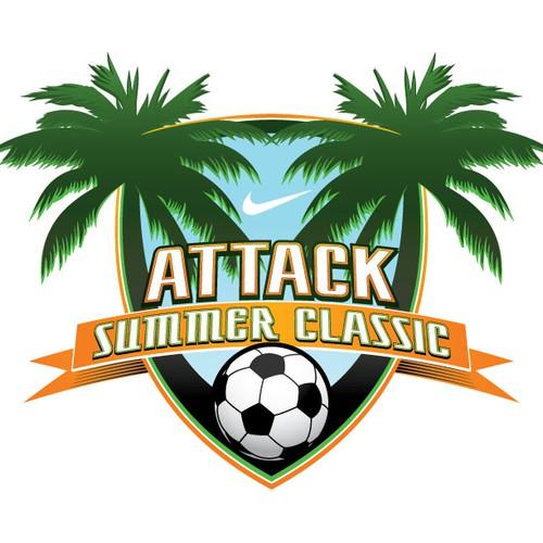 Attack Summer Classic Soccer Tournament Logo Design needs a new logo