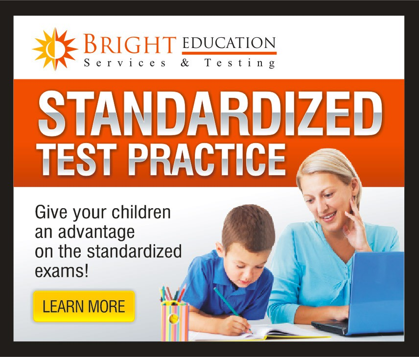 banner ad for Bright Education