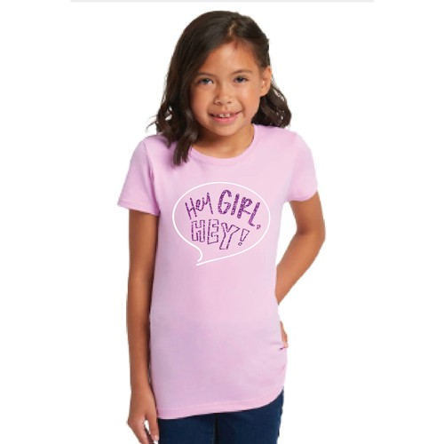 T-shirt design for little girls