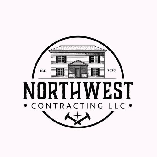 vintage logo for northwest