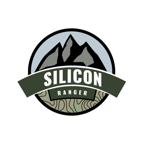 Bold logo for a park ranger