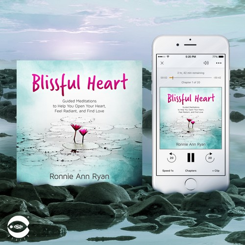 "Audiobook cover for ""Blissful Heart"" by Ronnie Ann Ryan"