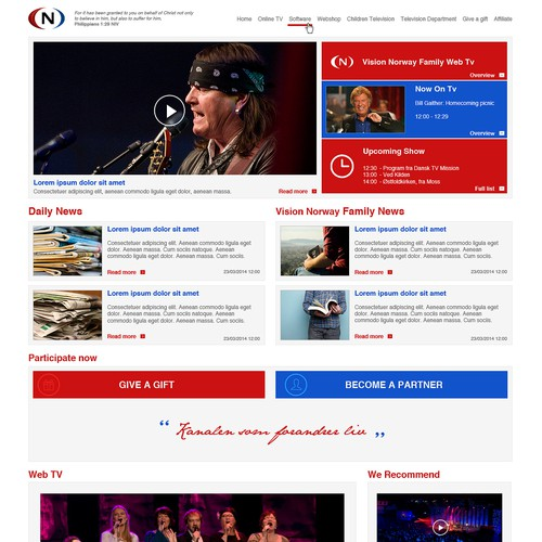 Vision Norway Web Design