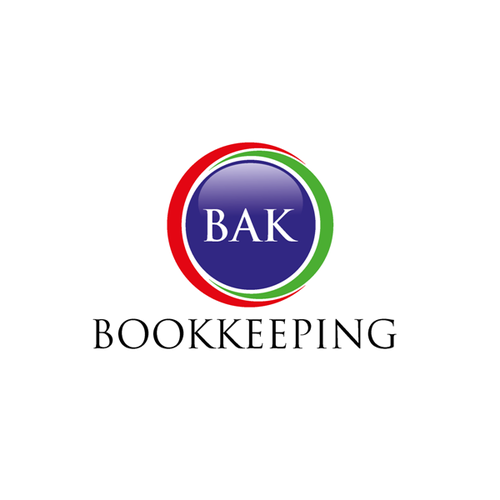 Create a logo for BAK Bookkeeping