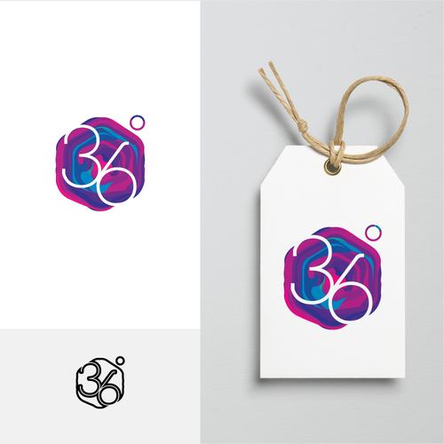 Modern logo for organic fashion company