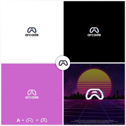 Arcade Gaming Logo