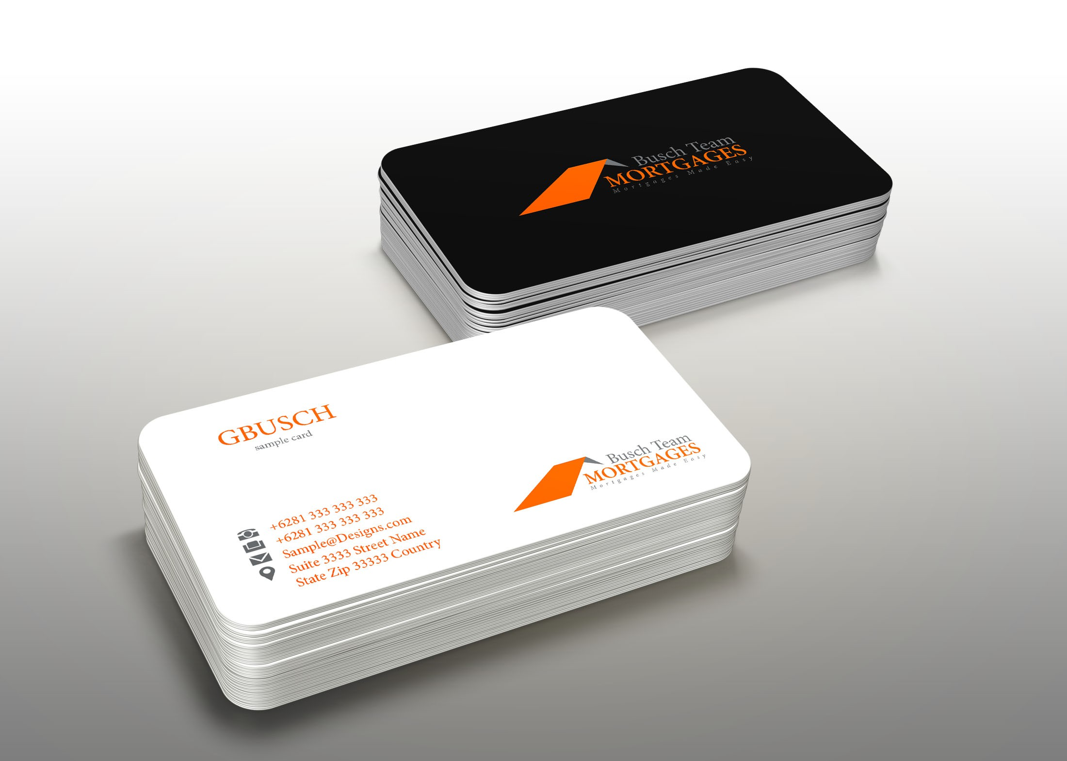 Gregg Busch Mortgages need a sleek cool concept to make a boring tedious business look exciting