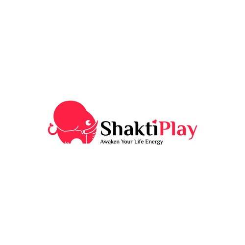 playful logo concept for tantric workshops
