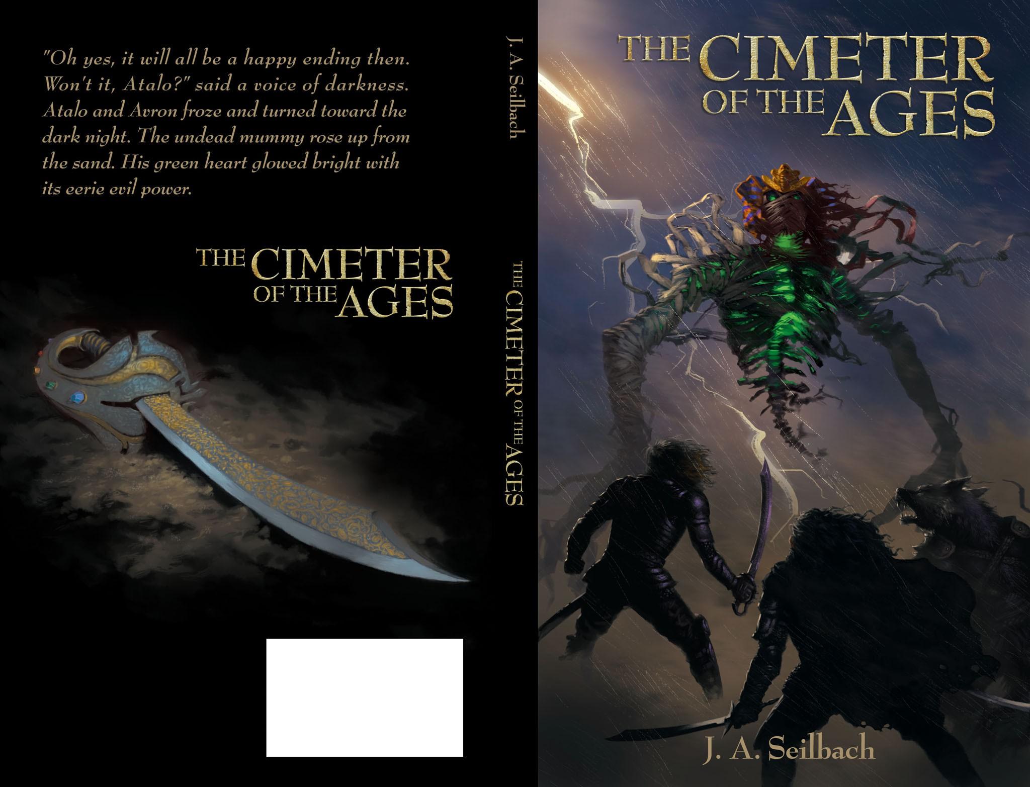 Book cover- Teen fantasy adventure book