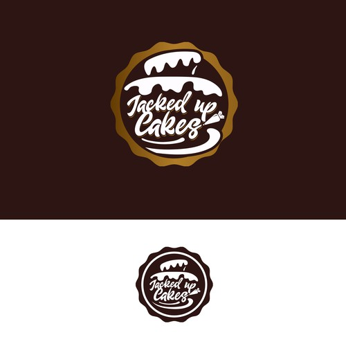 Logo & Business Card Design for Jacked Up Cakes