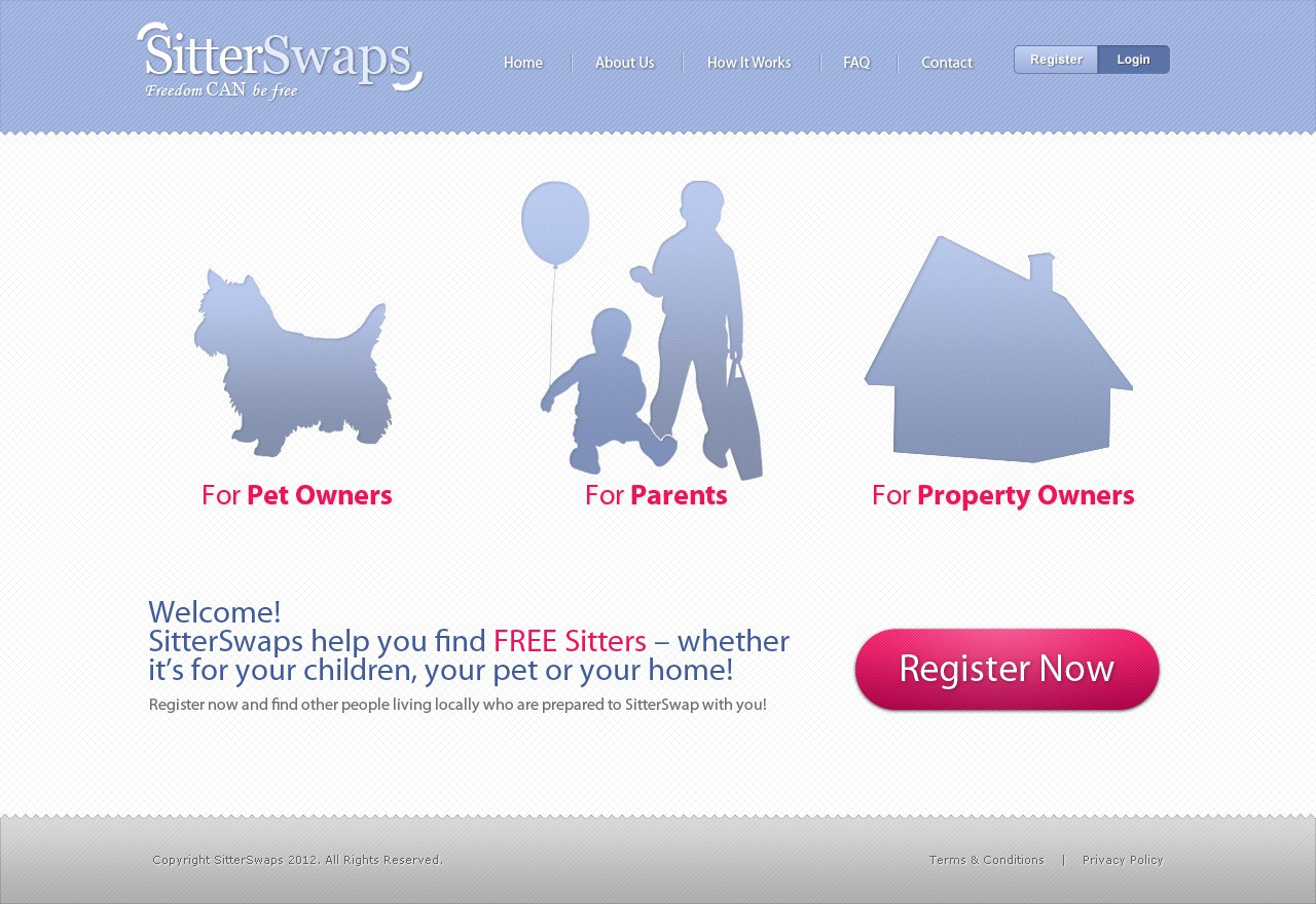 Help SitterSwaps with a new website design