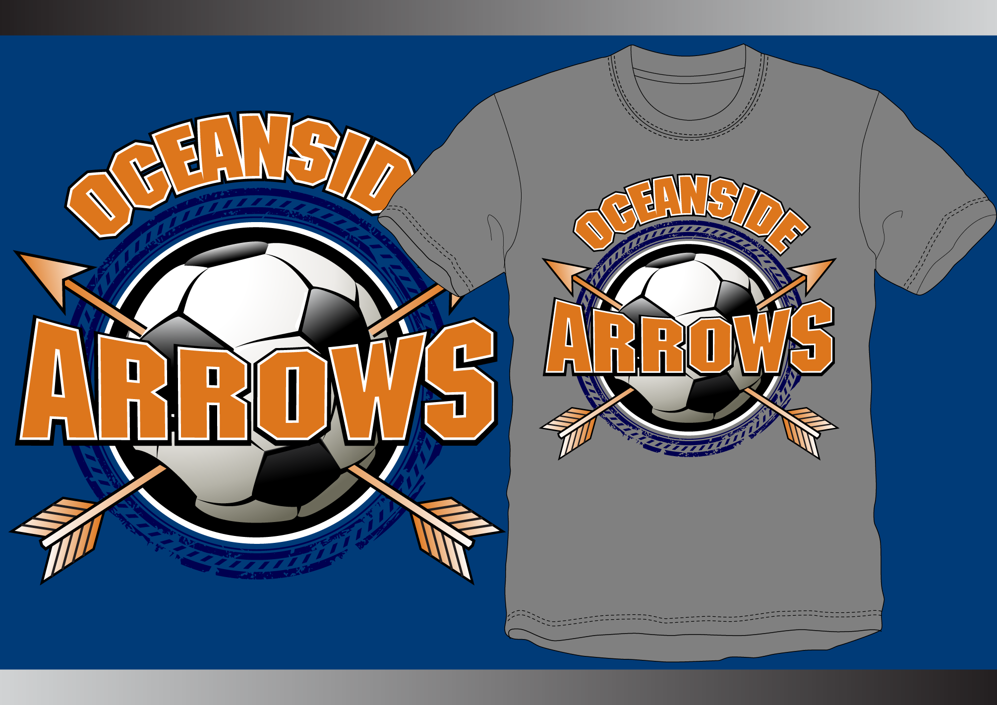 Boy's soccer team looking for great logo for t-shirts