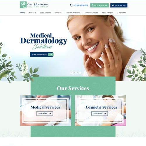 Dermatology Clinic Needs Spectacular New Website