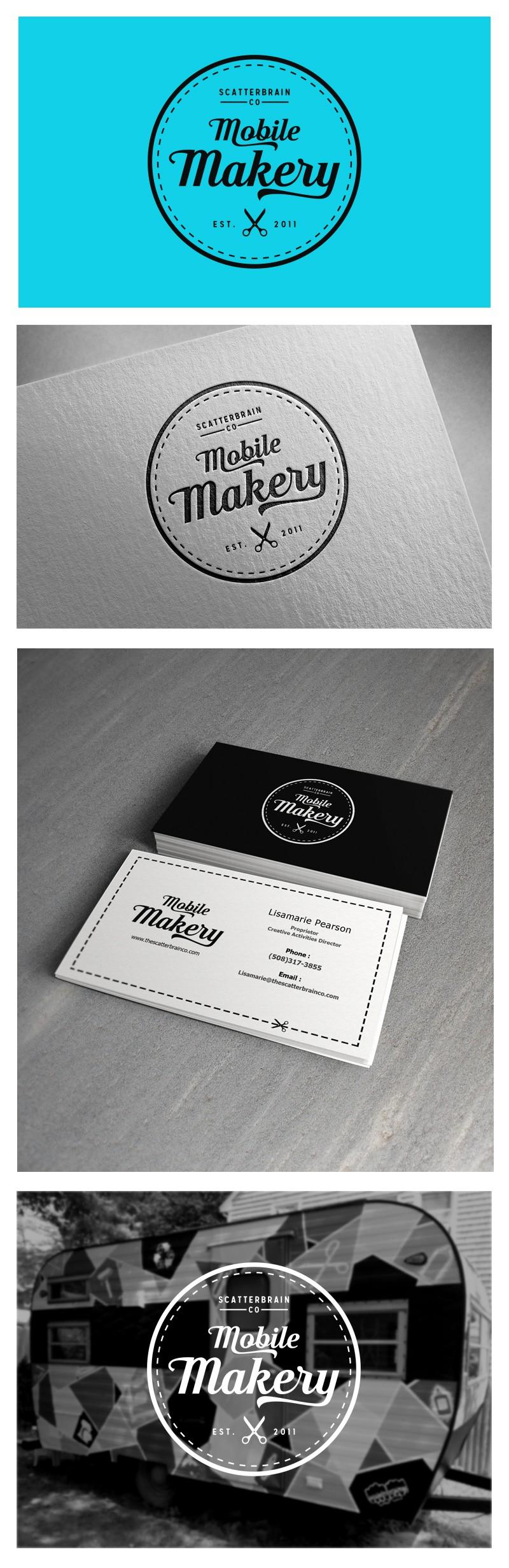 Design a Logo & Business Card for a Vintage Camper Art Studio!